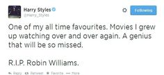 Awwww he will be dearly missed and I have such respect for that man because he wasn't happy yet made other people happy