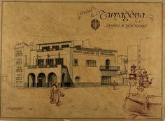Pòsit de pescadors. Tarragona. 1942. MMB Vintage World Maps, History, Movies, Movie Posters, Art, Angler Fish, Art Background, Historia, Films