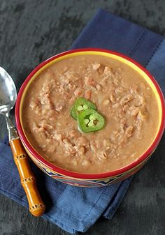 The Galley Gourmet: Refried Pinto Beans