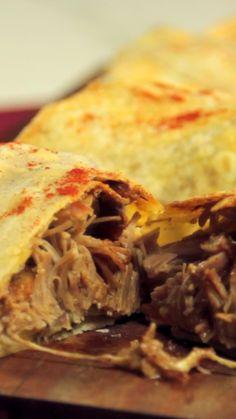 Burrito de Cerdo - Rot Tutorial and Ideas Authentic Mexican Recipes, Mexican Food Recipes, Ethnic Recipes, Gourmet Recipes, Cooking Recipes, Healthy Recipes, Pozole Recipe Pork, Good Food, Yummy Food