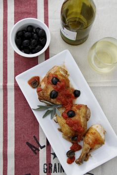 Pollo alle Olive / Chicken with Olives  |  Bell'alimento