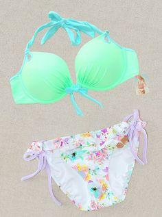 Victorias Secret Gorgeous Push Up Bikini Swimsuit