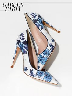 fantastic pair of shoes! :) I L.K. Bennett flora-printed heels, $256lkbennett.com I vogue.com