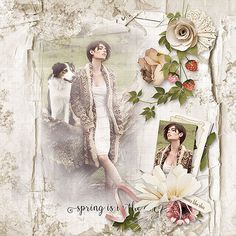 Digital Art, Kit, Spring, Creative, Fennel, Pictures, Painting, Beautiful, Scrapbooking