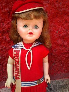 Boneca Antiga Prosinha Da Estrela - R$ 480,00 no MercadoLivre