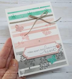 Carussell Crafts: AWH Team - Colour Creations Week 5 - Blushing Bride