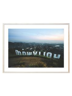 Wonderwall Studio High on Hollywood by WWS Photography Collection (Framed Giclee)