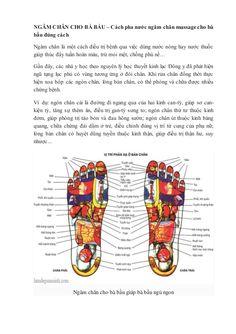 NGÂM CHÂN CHO BÀ BẦU – Cách pha nước ngâm chân massagecho bà bầu đúng cách Ngâm…