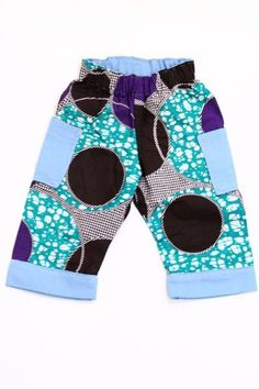 Baby & Toddler Colorful Pocket Pants Assorted (Wholesale Only)