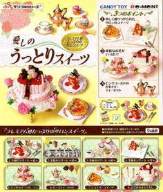 Re-Ment Miniature Love Sweet Tea Dessert Full Set of 8 pcs RARE!