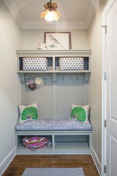Small Mudroom. Small Mudroom Ideas. Small Mudroom. Small Mudroom #SmallMudroom #mudroom small-mudroom Lisa Sherry Interieurs (Home Design & Decor Magazine)
