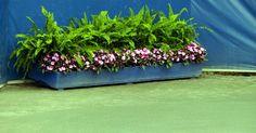 Como pintar vasos para plantas. Plantadores são caixas de madeira utilizados para abrigar diversas plantas. Dentro de casa ou no jardim, plantadores podem ser decorados com tinta para combinar com qualquer decoração.