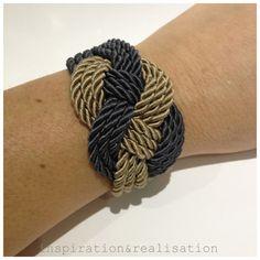 inspiration and realisation: DIY fashion blog: DIY winter nautical bracelet