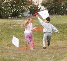 Cerf-volant à fabriquer - Tête à modeler