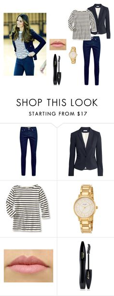 """Kate Middleton Inspired"" by oxkimxo ❤ liked on Polyvore featuring Topman, H&M, Kate Spade, Lancôme, preppy, katemiddleton, Kate and middleton"