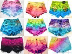 DIY | Tie Dye Shorts