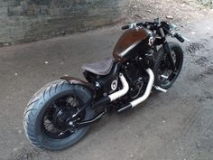 Honda VT 600 bobber custom Voodoo custom cycles book your build | eBay
