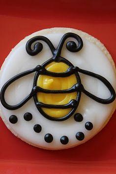The Cookie Mama: Bumblebee Cookies
