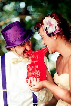 Willy Wonka Themed Wedding {Styled Shoot}- Ashford Estates, Allentown, NJ » thelunabluestudio.com