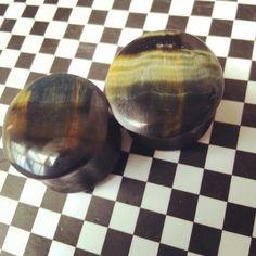 18mm falconeye stone plugs