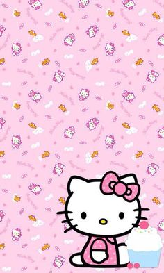 15 ideas for wallpaper disney android hello kitty Hello Kitty Backgrounds, Hello Kitty Wallpaper, Phone Backgrounds, Sanrio Wallpaper, Wallpaper Iphone Disney, Cellphone Wallpaper, Hello Kitty Art, Sanrio Hello Kitty, My Melody Sanrio