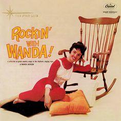 """Rockin' With Wanda"" (1960, Capitol) by Wanda Jackson.  Her second LP."