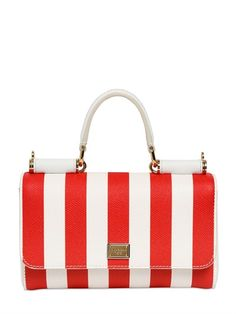 27d6fcf196eb LUISAVIAROMA - LUXURY SHOPPING WORLDWIDE SHIPPING - FLORENCE. See More.  Dolce   Gabbana jeans striped Dauphine leather bag
