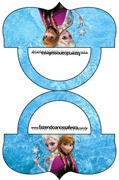 Frozen: Candy Bar Labels. Free Printables.
