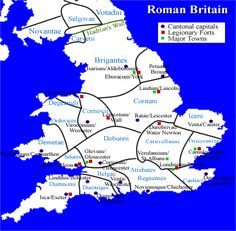 Verulamium Map | In 196 AD, the Romans finally abandoned any hope of regaining the ...
