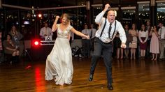 This guy can move! Daddy-daughter dance steals the show. #FatherOfTheBride #FirstDance