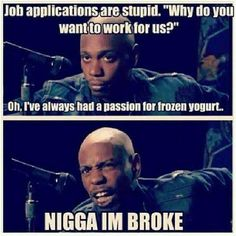 Job applications… Just laughed so hard