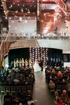 World forestry center portland oregon wedding venues 1 charissa my wedding modern meets traditional winter wedding wedding ceremony at the portland junglespirit Images