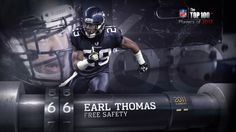 #66 - Earl Thomas Earl Thomas, Nfl Network, Seahawks Football, The 100, Sports, Top, Hs Sports, Sport
