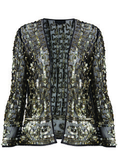 Sequin Mesh Jacket, $170: Kate Moss for Topshop | Boca Raton Magazine