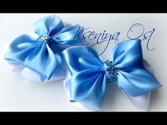 DIY crafts How to Make Beauty Easy Bow/ Ribbon Hair Bow Tutorial /DIY ribbon bow/DIY beauty and easy - YouTube