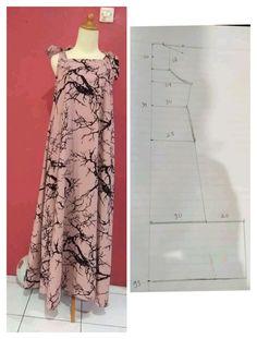 Clothing Patterns, Dress Patterns, Sewing Patterns, Girls Dresses, Summer Dresses, Sewing Class, Sewing Clothes, Designer Wear, Pola Rok