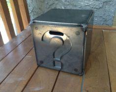 Metal Piggy Bank Box