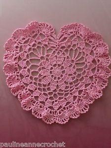 42 quick easy crochet doily pattern crochet doily patterns crochet valentine doilies crochet doily lacy heart paulineannecrochet valentine dt1010fo