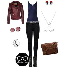 """Peter Quill - Star Lord - Guardians of the Galaxy"" by closplaying on Polyvore"