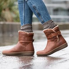 Panama Jack - Women's Collection Flat Heel Boots, Bootie Boots, Shoe Boots, Winter Fashion Boots, Winter Boots, Fall Winter, Cute Shoes, Me Too Shoes, Look Fashion