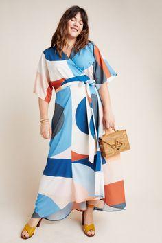 Miro Wrap Maxi Dress | Anthropologie