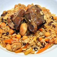 A cousin ofpilafandpulao,plov is the national dish of Uzbekistan, a hearty dish of rice, carrots, onions, lamb, and a generous amount of fat.