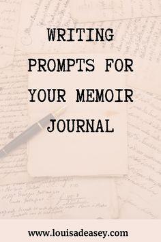 Fiction Writing Prompts, Memoir Writing, Journal Writing Prompts, Writing Inspiration, Creative Inspiration, Flow State, Writer Tips, Self Publishing, Self Development