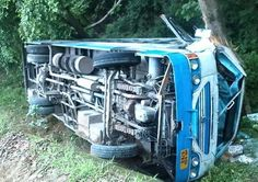 Haryana roadways bus falls into gorge in Himachal