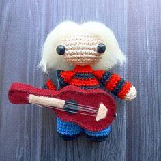 Crochet toy Kurt Cobain Nirvana amigurumi  #МастерскаяКошамбры  #KoshambrasWorksop