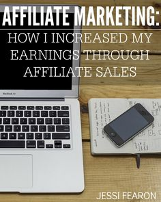 Affiliate Marketing Tips - a free eBook all about how I increased my earnings through affiliate sales. I'm sharing the various ways that I make affiliate sales work for my little blog.
