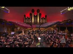 "Most Beautiful Testimony in Song:  ""I Believe in Christ""  - Mormon Tabernacle Choir, Orchestra on Temple Square"