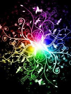 Dando Vida Rainbow Wallpaper Colorful Fractal Art Fractals Downloads