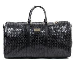 7d9470ce716d Versace Sports Bag 100% Leather Abbigliamento V 1969 Italia Mens One Size  Black  Versace1969AbbigliamentoSportivoSrlMilanoItalia