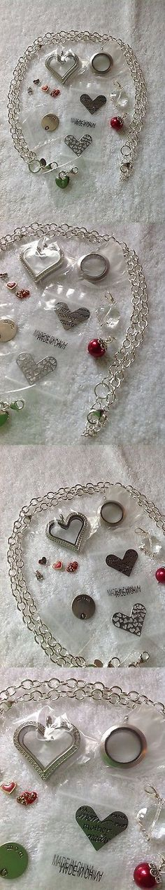 Mixed Items and Lots 10970: Origami Owl Jewelry Lot 4 Lockets Chain Bangles Dangles Charms Plate And More -> BUY IT NOW ONLY: $83 on eBay!